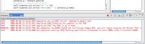 Running the appserver from within Aptana