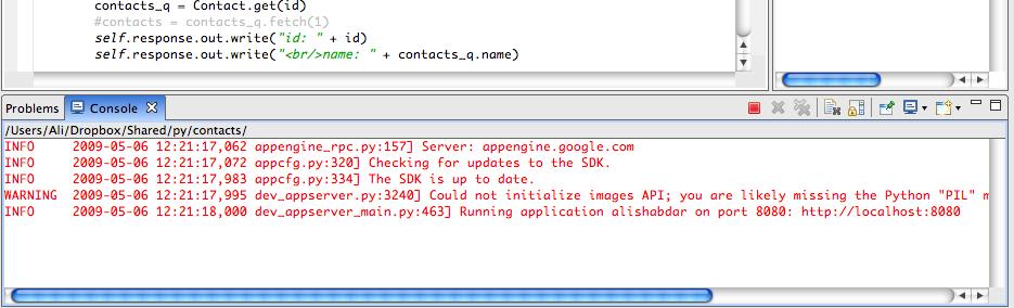 Develop Google AppEngine with Aptana Studio